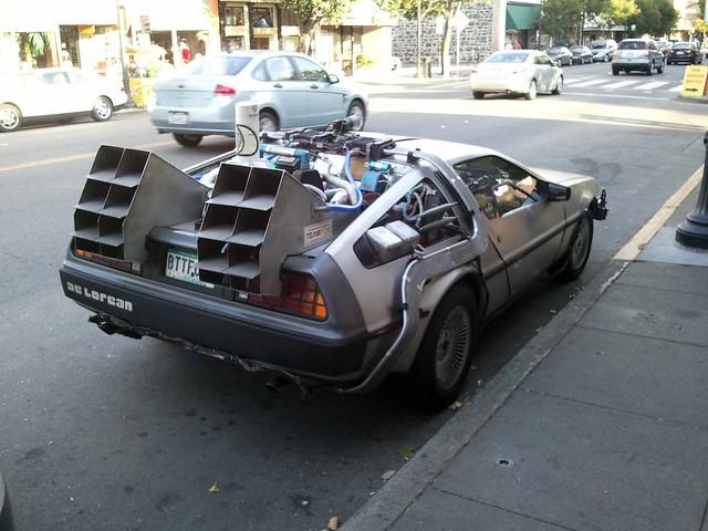 BTTF car