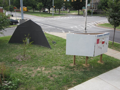 10 07 31 Wayscapes Install at TInges Commons 1.jpg