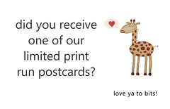 did you receive a postcard
