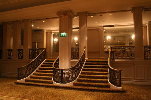 Ballroom stairs