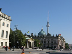 Berlinger Dome and Fernsehturn Photo