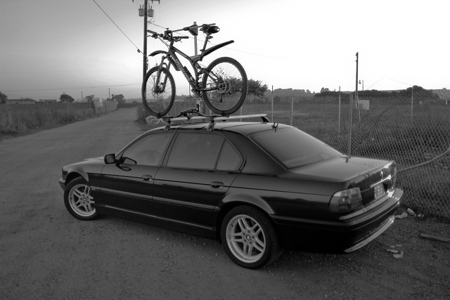 I Recently Purchased A Hitch Mounted Bike Rack For 4 Bikes For My Rover And  Havenu0027t Used The Racks On My E38 Since. Definitely Easier Than Putting A  Bike On ...