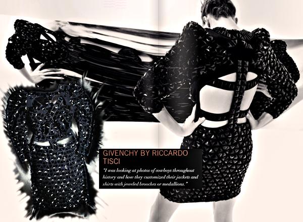 Givenchy by riccardo tisci little black dress