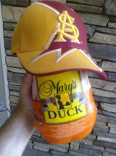 Now THAT's a Duck! #railgating #GoDevils