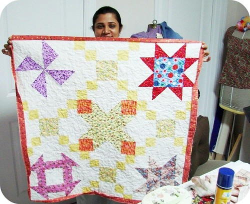 Quilting with Lalli