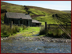 Lowther Hills near Leadhills (Ben.Allison36) Tags: uk house building abandoned river landscape scotland ruin scenic scottish hills burn finepix shepherds lanarkshire elvanfoot lowther leadhills hs10 southlanarkshire hopetounestate