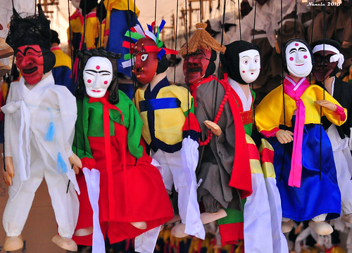 Puppets for Sale -- Andong Mask Dance Festival