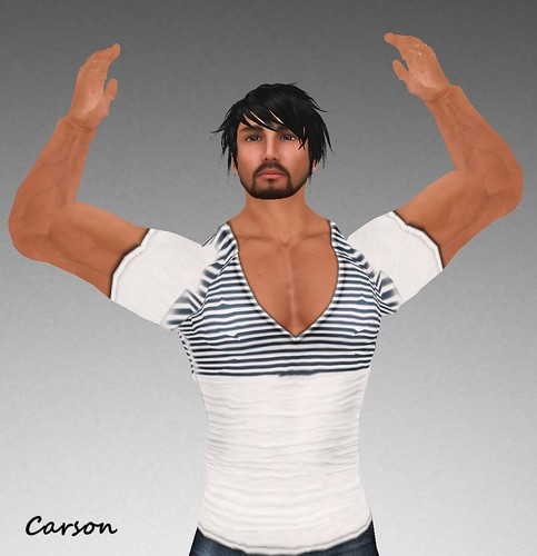 MHOH4 # 102 -  .C.Smit. V-Neck Shirt