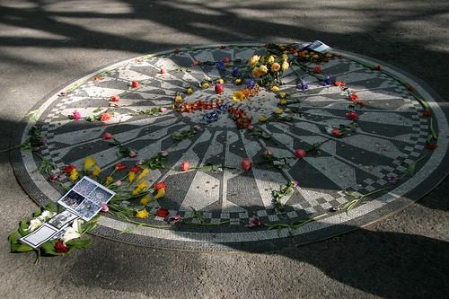 John Lennon commemoration, Central Park, New York