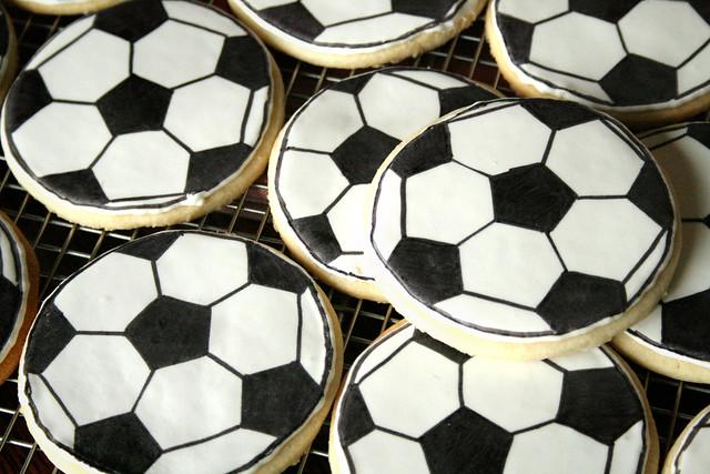 Soccer Ball cookies.