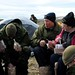 Lunch time with MND in the Arctic