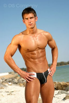 speedo underwear model hot muscle shirtless hunk
