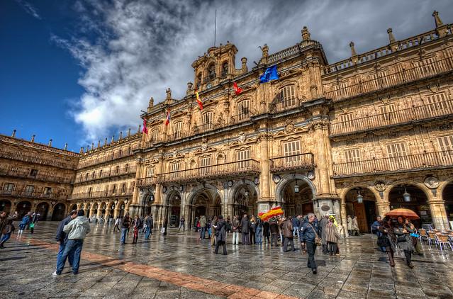 Plaza Mayor, Salamanca (Spain) HDR 2 – Deghosting with Photomatix Pro 4.0