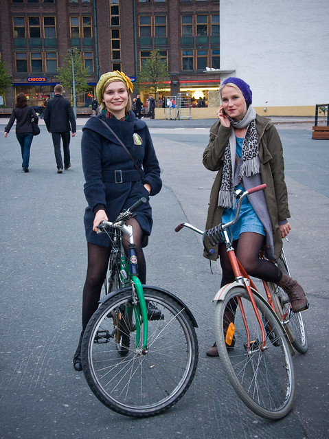 Helsinki Cycle Chic Photo Shoot