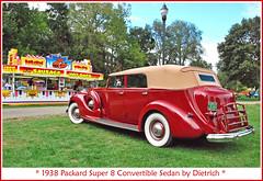1938 Packard Super 8 (sjb4photos) Tags: 2010orphancarshow packard 1938packard autoglamma sausagestand