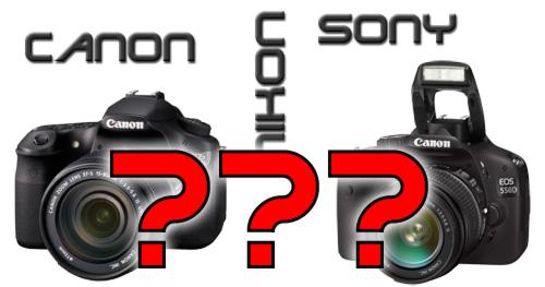 Canon, Nikon, Sony, wohin geht die Reise?