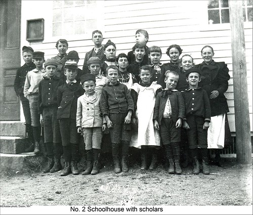 School No.2 Students in Dublin New Hampshire