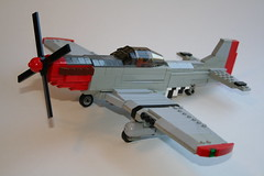 P-51D Mustang Updated (thirdwigg) Tags: wwii north american mustang p51 moc