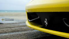 458 (Nue Vue Photography) Tags: david sexy art car rain yellow 1 crazy nikon miami g awesome ferrari series sharpie vue nue nickerson 458