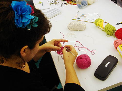 Amigurumi workshop at Duduá