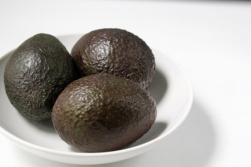 bowl of avocados