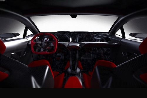 Lamborghini Sesto elemento koncept