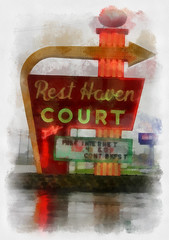 rest haven (alandberning) Tags: haven icon 66 route missouri rest springfield