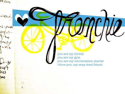 I heart mi bici!