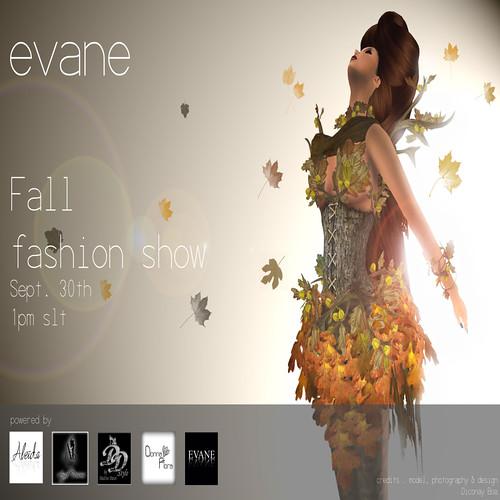 Evane Fall Show Invite