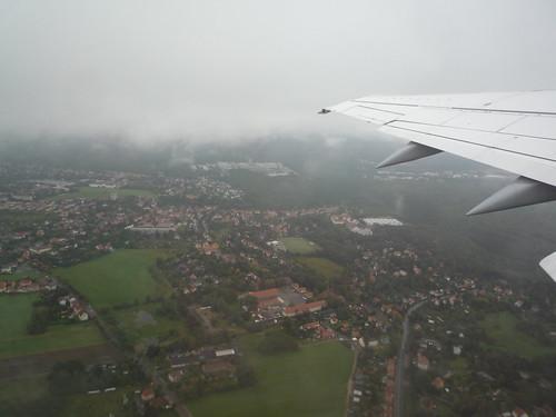 Vista aérea de Dresde