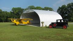 Metal Airplane Hangar