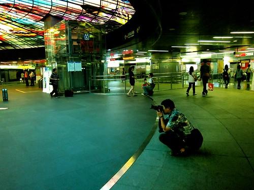穹頂大廳攝影者