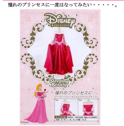 Japanese Dress Pattern Sleeping Beauty (2)