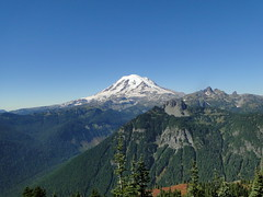 Rainier from Shriner Peak lookout.