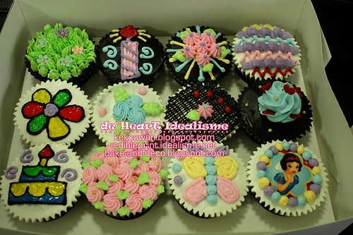 Batch 1 Ogos: Basic Buttercream Cupcakes