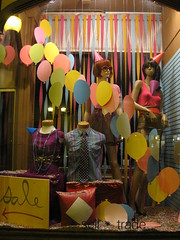 Party Window (Everyday People Clothing) Tags: party fashion vintage balloons clothing mannequins display minneapolis windowdisplay dinkytown everydaypeople clothingexchange