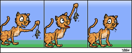 comics-strips-cat-happy-end