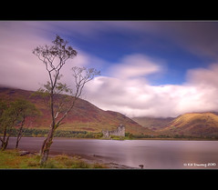 Kilchurn Castle, Loch Awe (Kit Downey) Tags: uk longexposure autumn castle fall clouds landscape scotland october ruin wideangle historic loch historicscotland 2010 lochawe scottishhighlands westernhighlands scottishlandscape scottishloch scottishcastle ndx1000filter tokina1116mmf28 kitdowney canoneos550d canonrebelt2i