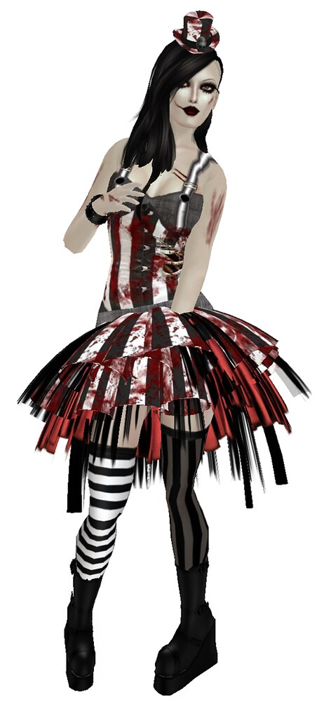 CRAYON DESIGN - Hallows Eve - Zombie Outfit