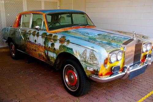 Pro Hart's Rolls Royce