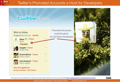 Twitter Promoted Accounts & #newtwitterceo