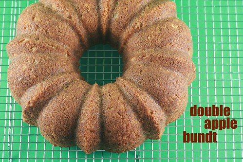 Double Apple Bundt - Tuesdays with Dorie