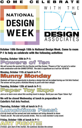 National Design Week - Lompoc, CA