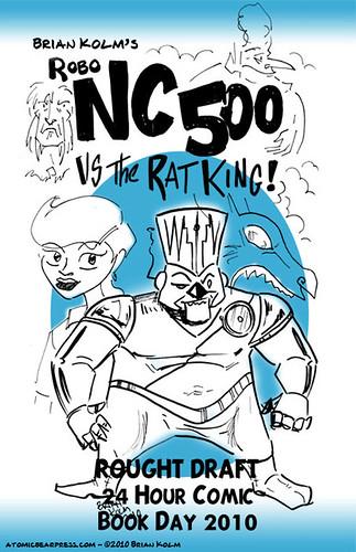 24hcbd-2010: Robo NC500 by Brian Kolm