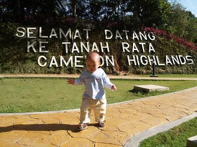 Justin at Tanah Rata