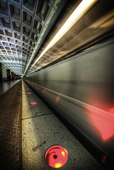 Underground Perspective (@!ex) Tags: subway dc washington long exposure pentax aficionados k10d