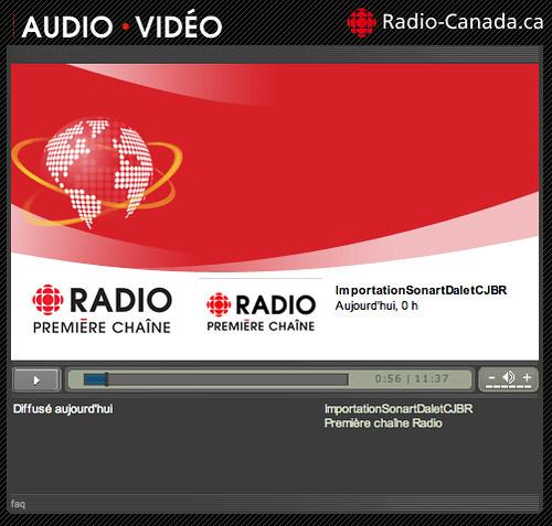 @vincebel à Radio-Canada