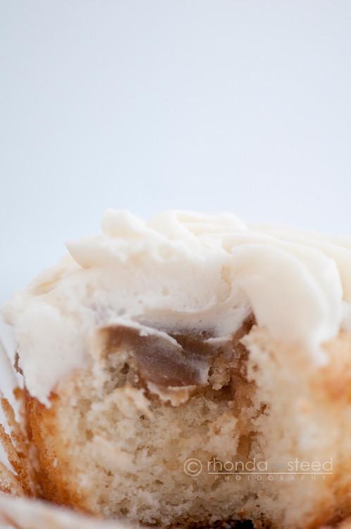 Hiding inside the cupcakes....