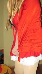 Little hot Red Riding Hood (zentaitv) Tags: tv cd tgirl transgender pantyhose crossdresser crossdress breastforms