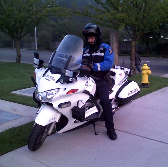 Bellevue Police Motorcycle